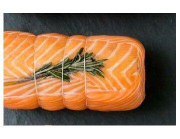 Rôti farci au saumon et aux...